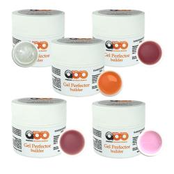 Комплект строительных гелей Builder gel Perfector 5 по 15 г